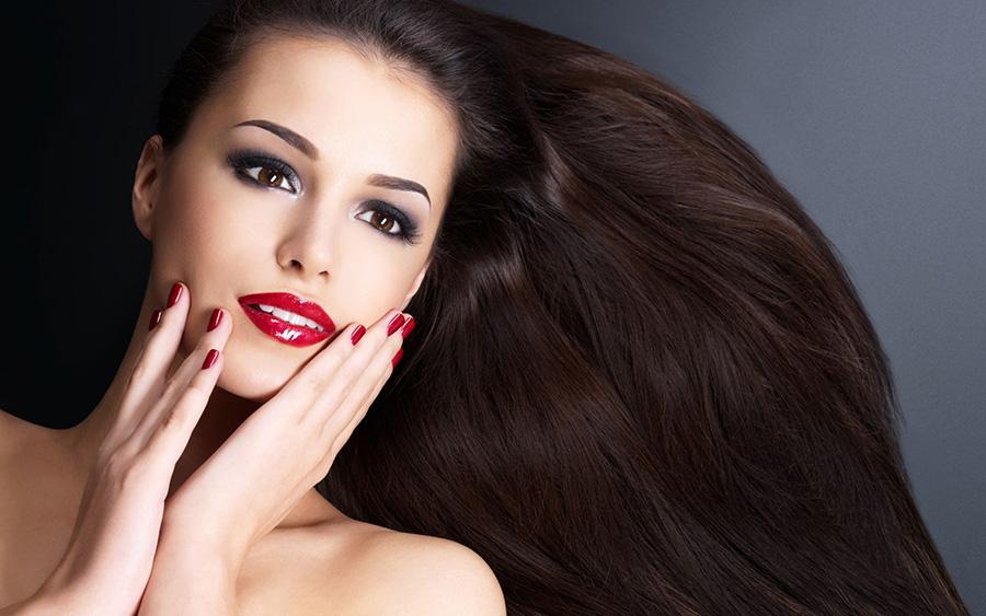 beautiful skin hair nails